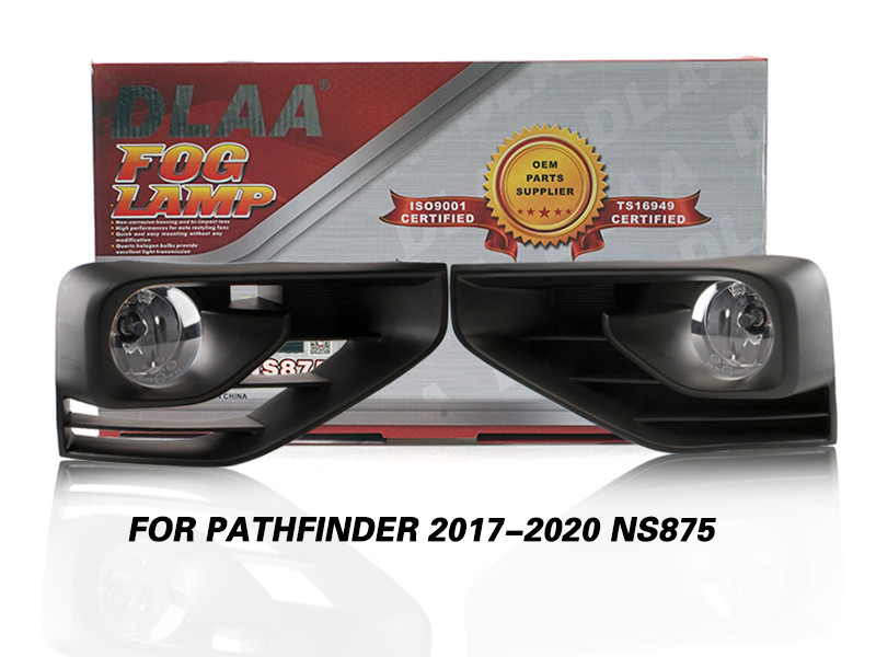 DLAA Fog Lamps Set Bumper Lights withwire FOR PATHFINDER 2017-2020 NS875