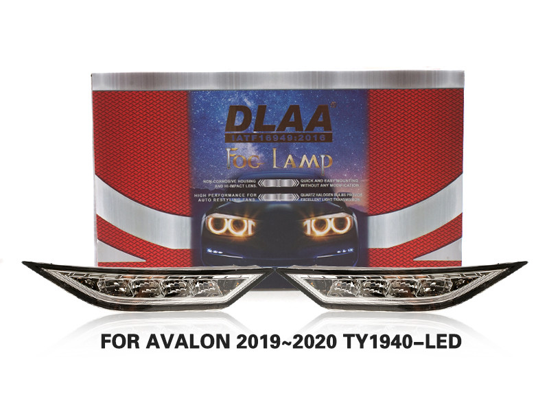 DLAA FogLamps Set Bumper Lights withwire FOR AVALON 2019~2020 TY1940-LED