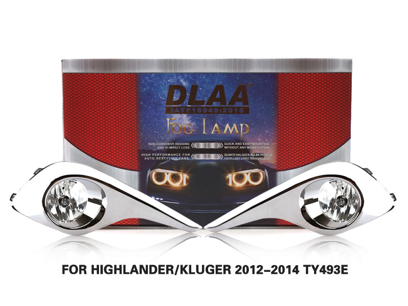 DLAA FogLamps Set Bumper Lights withwire FOR HIGHLANDER KLUGER 2012-2014 TY493E