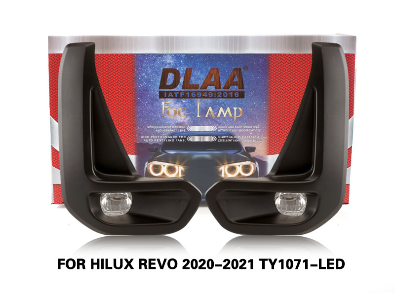 DLAA FogLamps Set Bumper Lights withwire FOR HILUX REVO 2020-2021 TY1071-LED