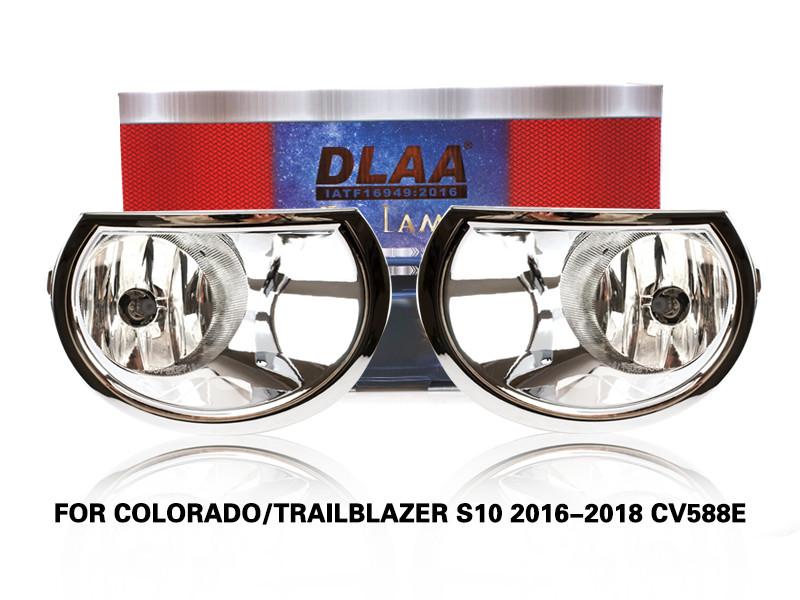 DLAA FogLamps Set Bumper Lights withwire COLORADO TRAILBLAZER S10 2016-2018 CV588E