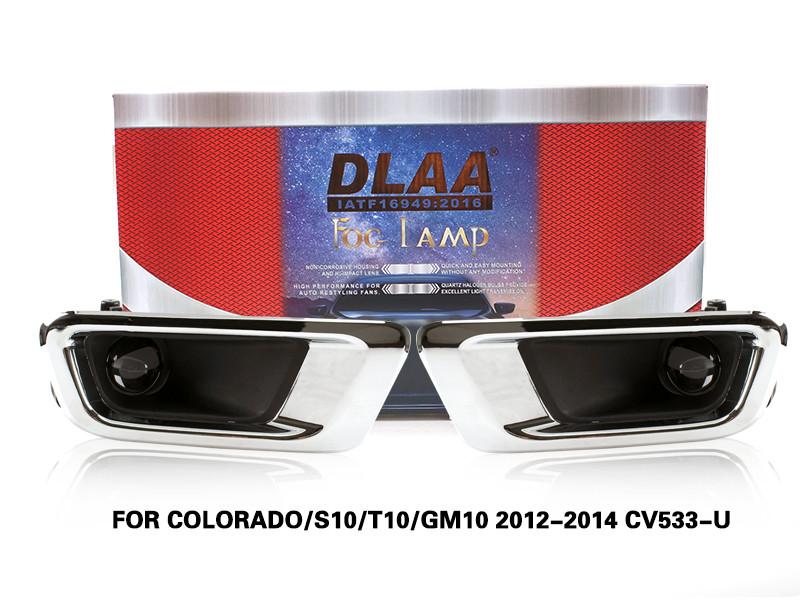 DLAA FogLamps Set Bumper Lights withwire FOR COLORADO S10 T10 GM10 2012-2014 CV533-U