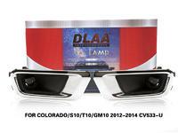 DLAA FogLamps Set Bumper Lights withwire FOR COLORADO S10 T10 GM10 2012-2014 CV533-U