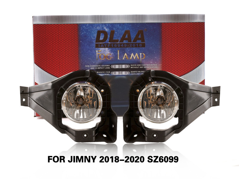 DLAA FogLamps Set Bumper Lights withwire FOR JIMNY 2018-2020 SZ6099