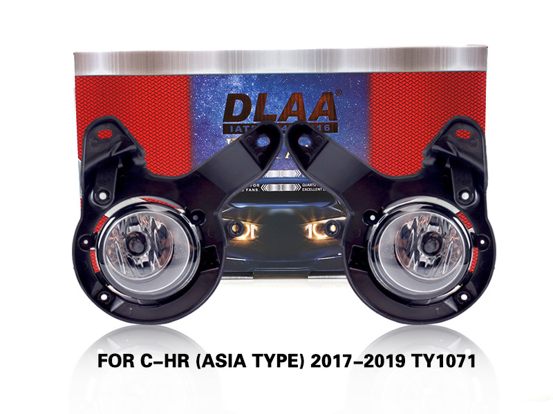 DLAA FogLamps Set Bumper Lights withwire FOR C-HR (ASIA TYPE) 2017-2019 TY1071