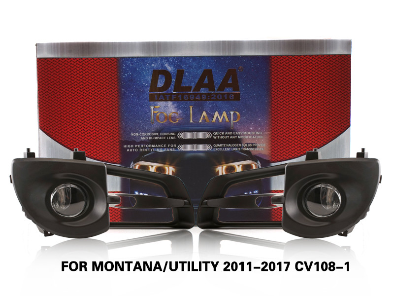 DLAA FogLamps Set Bumper Lights withwire FOR MONTANA UTILITY 2011-2017 CV108-1