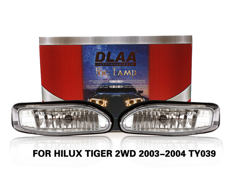DLAA FogLamps Set Bumper Lights withwire FOR HILUX TIGER 2WD 2003-2004 TY039