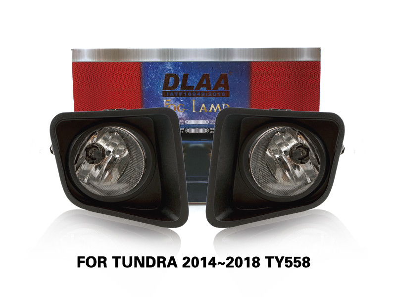 DLAA FogLamps Set Bumper Lights withwire FOR TUNDRA 2014~2018 TY558