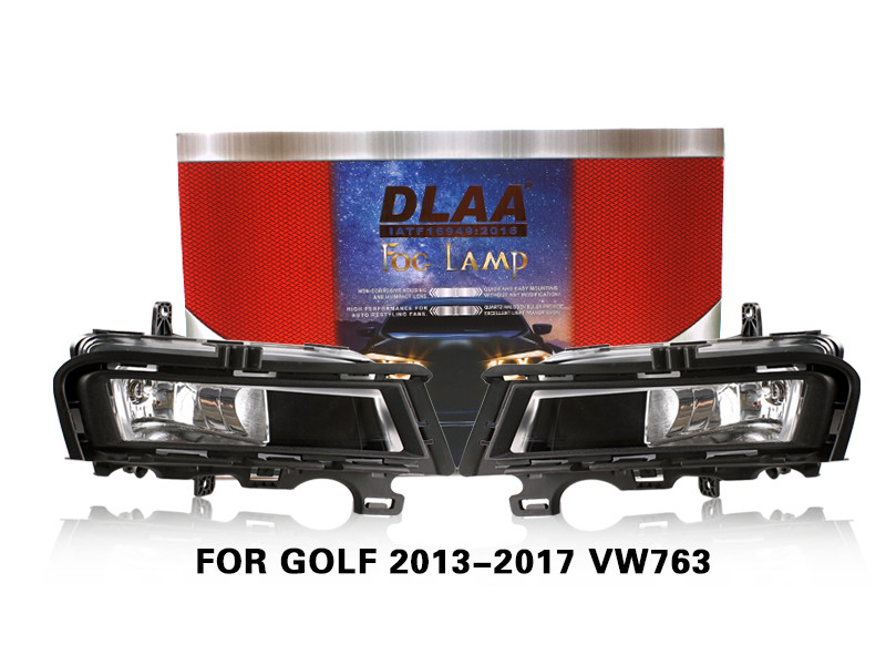 DLAA FogLamps Set Bumper Lights withwire FOR GOLF 2013-2017 VW763
