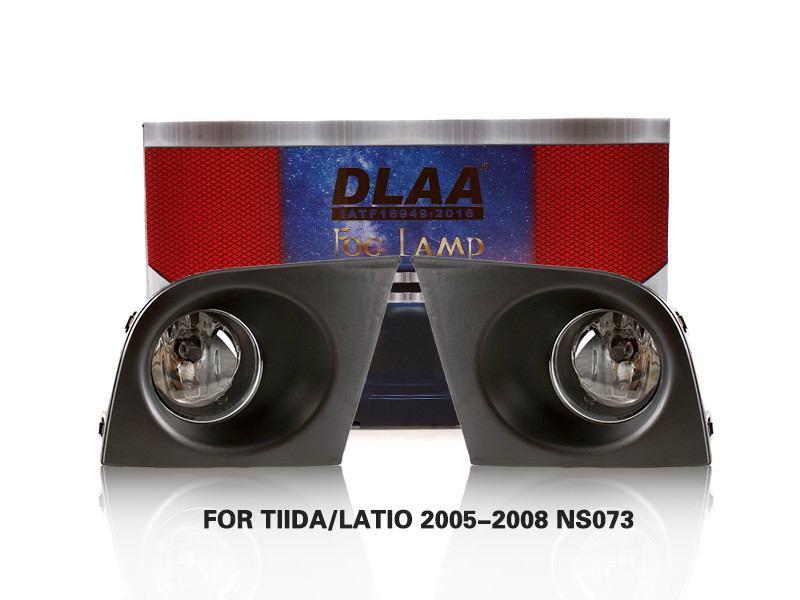 DLAA FogLamps Set Bumper Lights withwire FOR TIIDA LATIO 2005-2008 NS073