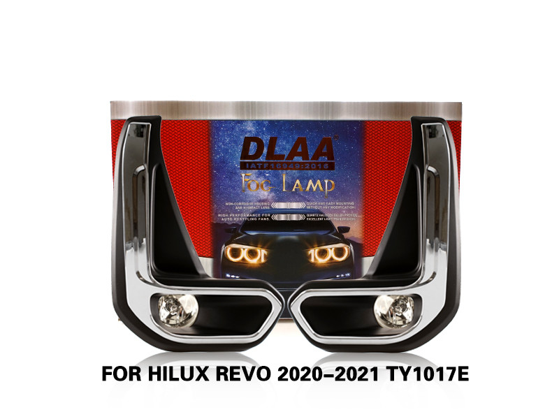 DLAA FogLamps Set Bumper Lights withwire FOR HILUX REVO 2020-2021 TY1017E