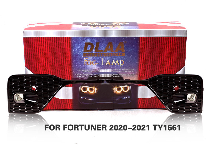 DLAA FogLamps Set Bumper Lights withwire  FOR FORTUNER 2020-2021 TY1661