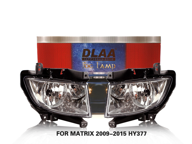 DLAA FogLamps Set Bumper Lights withwire FOR MATRIX 2009-2015 HY377