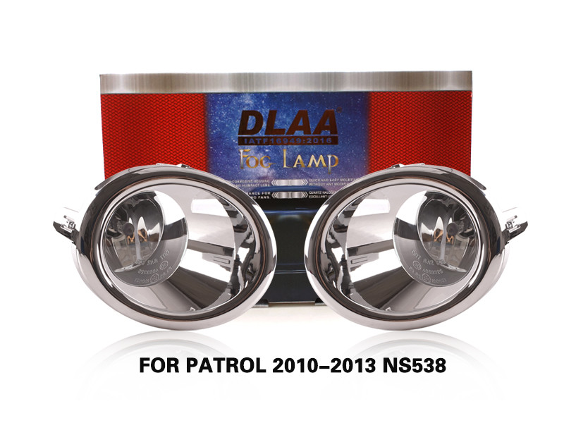 DLAA FogLamps Set Bumper Lights withwire FOR PATROL 2010-2013 NS538