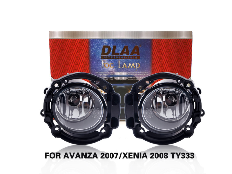 DLAA FogLamps Set Bumper Lights withwire FOR AVANZA 2007 XENIA 2008 TY333