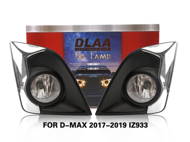 DLAA FogLamps Set Bumper Lights withwire For D-MAX 2017-2019 IZ933