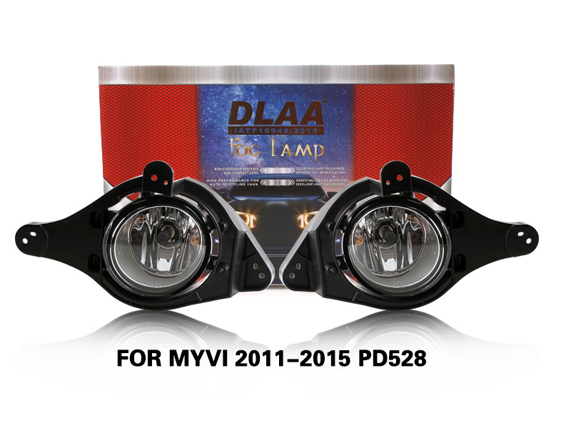 DLAA FogLamps Set Bumper Lights withwire FOR MYVI 2011-2015 PD528