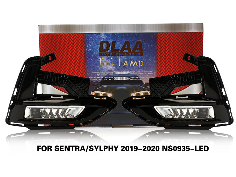 DLAA FogLamps Set Bumper Lights withwire  FOR SENTRA SYLPHY 2019-2020 NS0935-LED