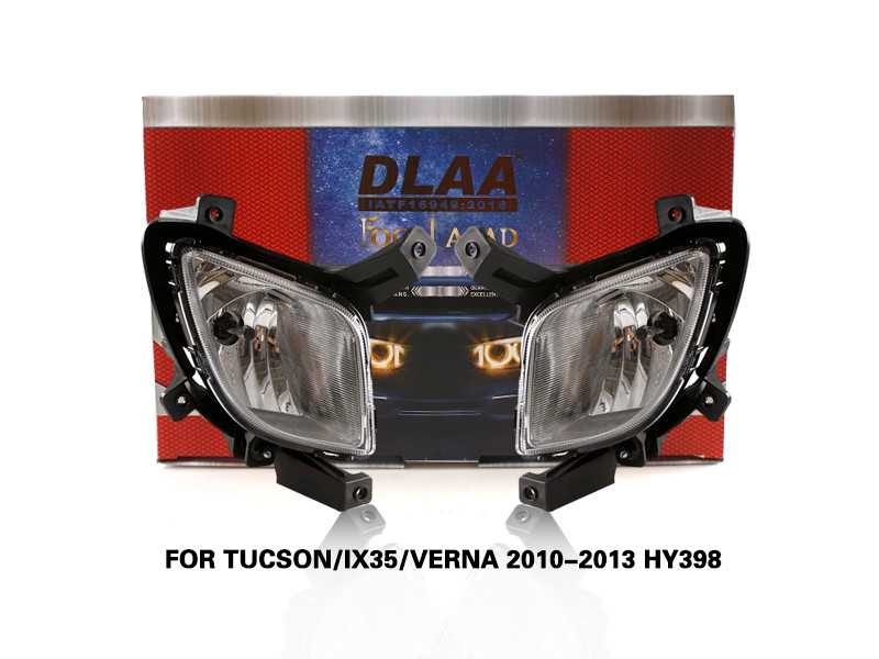 DLAA FogLamps Set Bumper Lights withwire FOR TUCSON IX35 VERNA 2010-2013 HY398