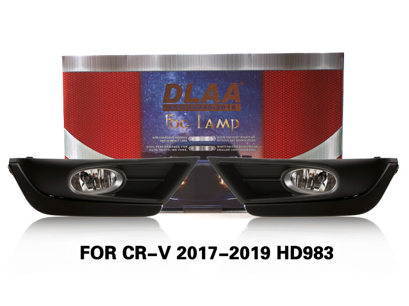 DLAA FogLamps Set Bumper Lights withwire FOR CR-V 2017-2019 HD983