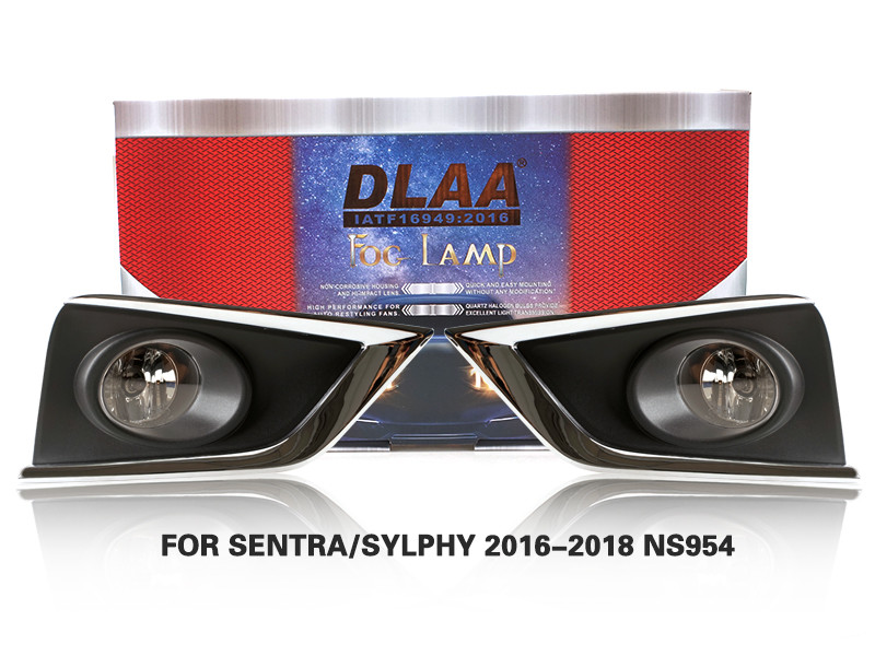 DLAA FogLamps Set Bumper Lights withwire FOR FOR SENTRA SYLPHY 2016-2018 NS954