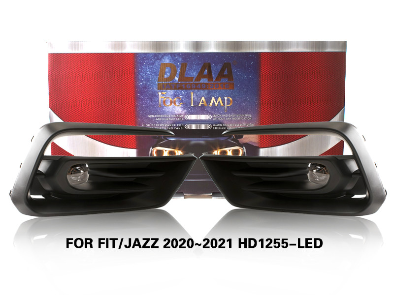 DLAA FogLamps Set Bumper Lights withwire FOR FIT/JAZZ 2020~2021 HD1255-LED