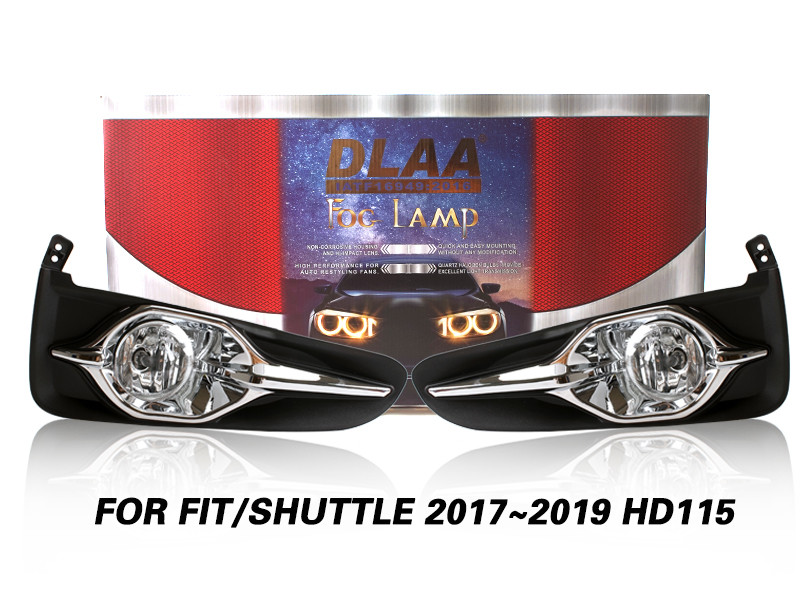 DLAA Fog Lamps Set Bumper Lights withwire FOR FIT SHUTTLE 2017~2019 HD115