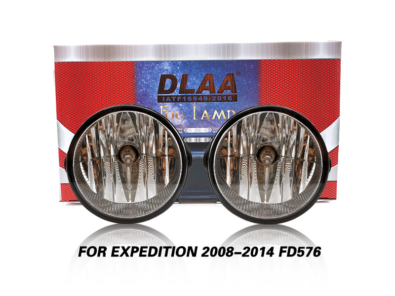 DLAA Fog Lamps Set Bumper Lights withwire FOR EXPEDITION 2008-2014 FD576