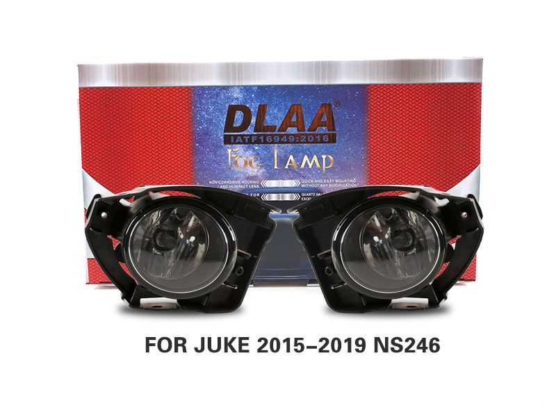 DLAA Fog Lamps Set Bumper Lights withwire FOR JUKE 2015-2019 NS246