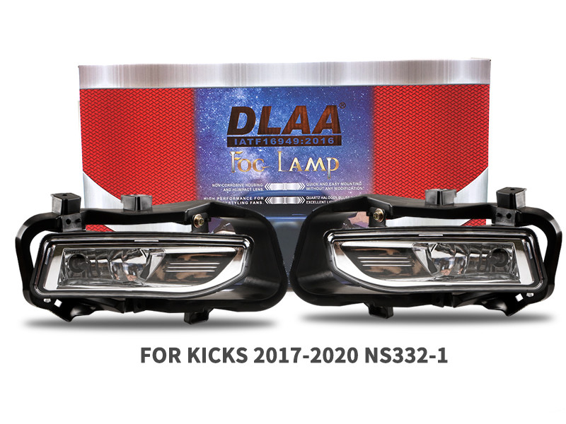 DLAA Fog Lamps Set Bumper Lights withwire FOR KICKS 2017-2020 NS332-1
