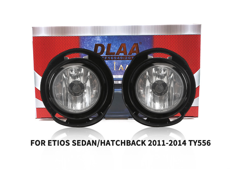 DLAA Fog Lamps Set Bumper Lights withwire FOR ETIOS SEDAN HATCHBACK 2011-2014 TY556