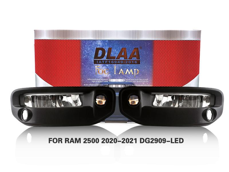 DLAA Fog Lamps Set Bumper Lights withwire FOR RAM 2500 2020-2021 DG2909-LED