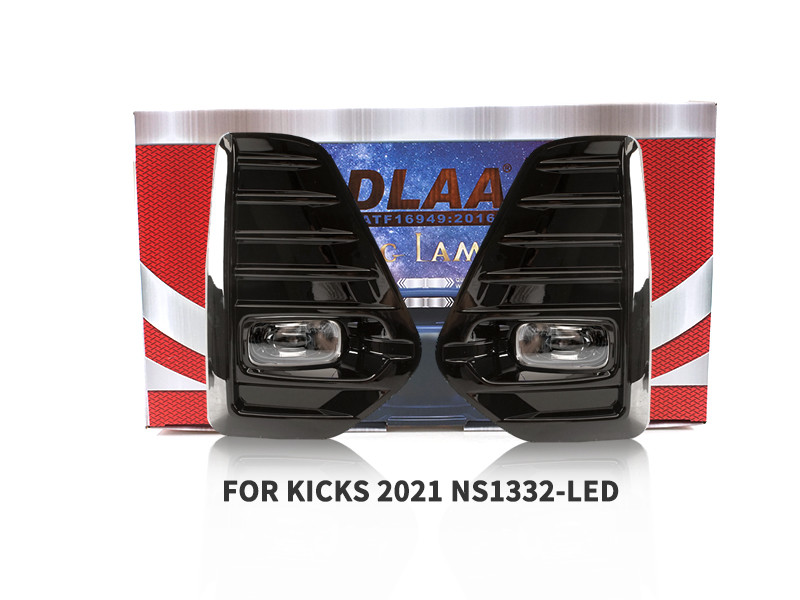 DLAA Fog Lamps Set Bumper Lights withwire FOR KICKS 2021 NS1332-LED