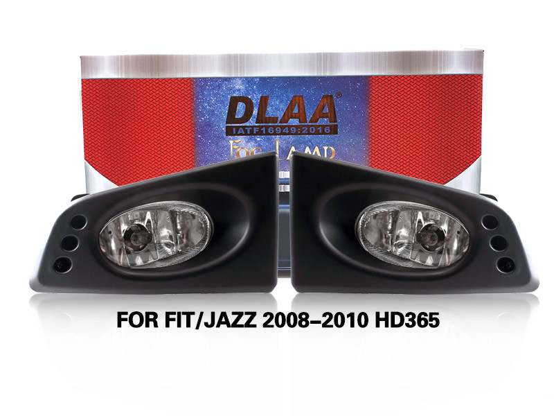 DLAA Fog Lamps Set Bumper Lights withwire FOR FIT JAZZ 2008-2010 HD365