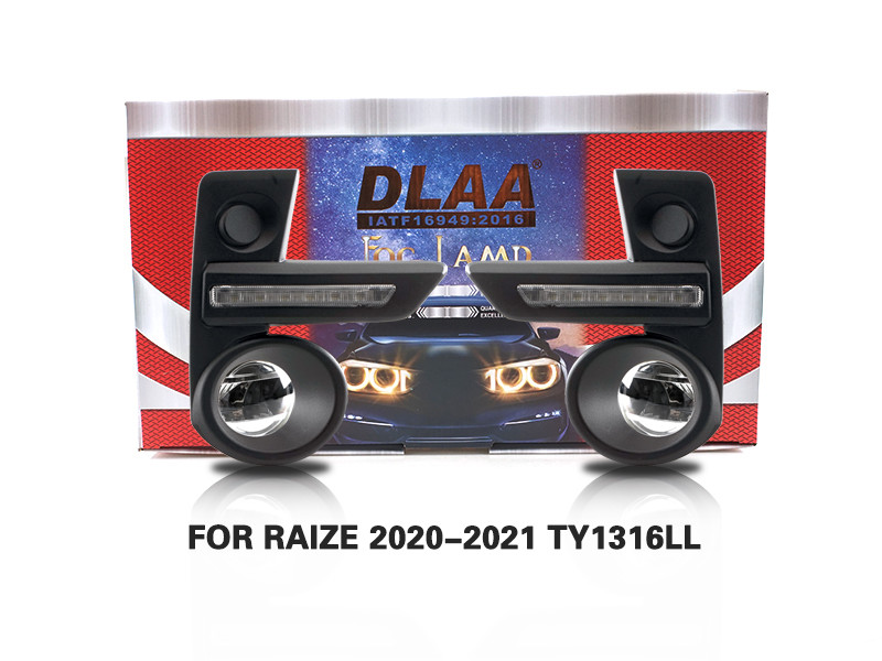 DLAA Fog Lamps Set Bumper Lights withwire  FOR RAIZE 2020-2021 TY1316LL