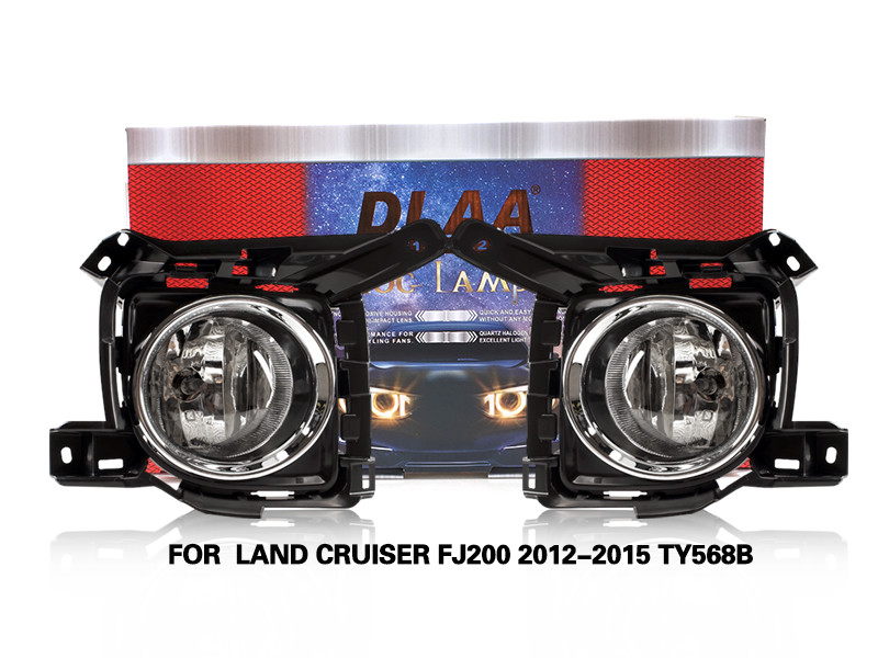 DLAA Fog Lamps Set Bumper Lights withwire FOR  LAND CRUISER FJ200 2012-2015 TY568B